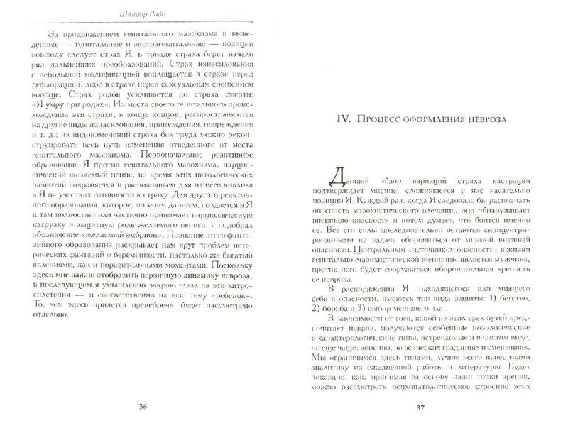 Иллюстрация 1 из 3 для Кастрационный страх у женщины - Шандор Радо | Лабиринт - книги. Источник: Лабиринт