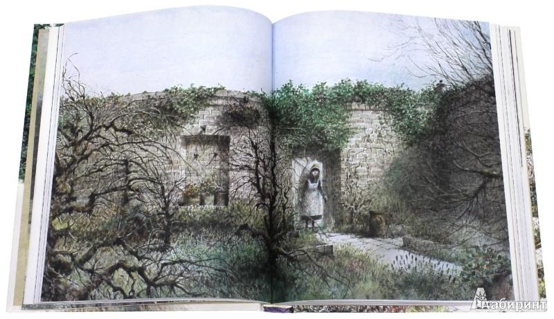 Иллюстрация 1 из 51 для Таинственный сад - Фрэнсис Бёрнетт   Лабиринт - книги. Источник: Лабиринт