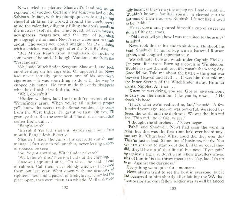 Иллюстрация 1 из 4 для Good Omens - Gaiman, Pratchett   Лабиринт - книги. Источник: Лабиринт