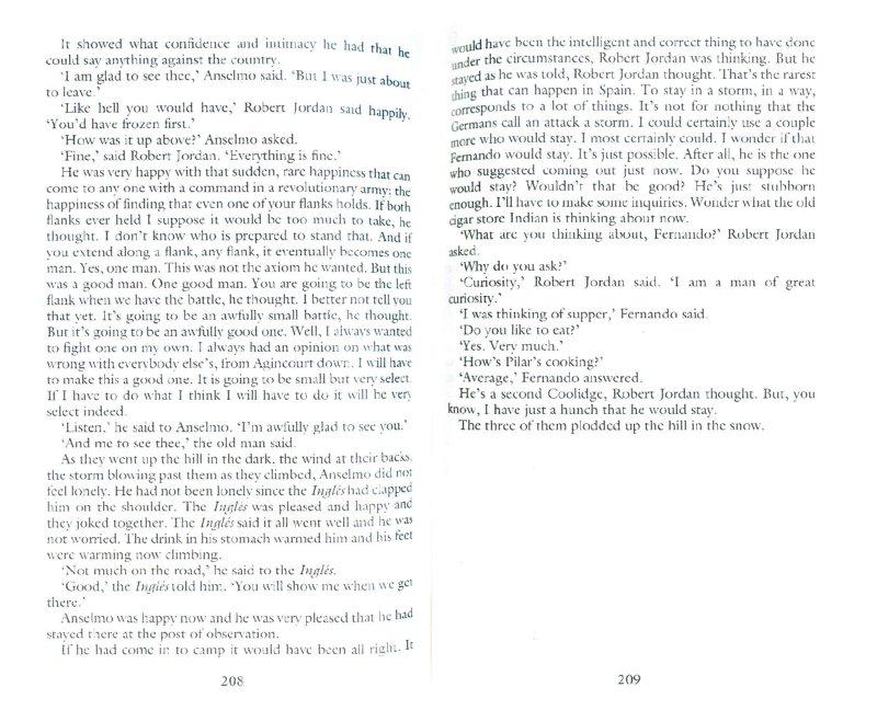Иллюстрация 1 из 12 для For Whom The Bell Tolls - Ernest Hemingway | Лабиринт - книги. Источник: Лабиринт