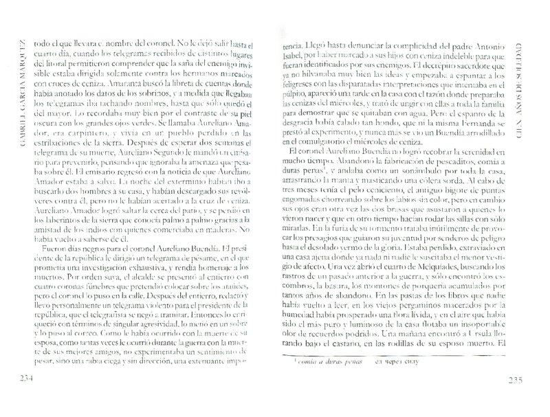 Иллюстрация 1 из 20 для CIEN ANOS DE SOLEDAD - Gabriel Marquez   Лабиринт - книги. Источник: Лабиринт
