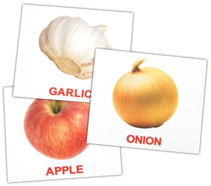 """Иллюстрация 1 из 7 для Комплект карточек мини на английском языке """"Fruit and vegetables"""" 8х10 см - Носова, Епанова   Лабиринт - книги. Источник: Лабиринт"""