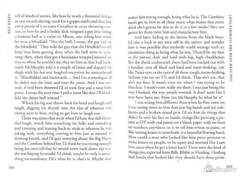 Иллюстрация 1 из 37 для One flew over the cuckoo`s nest - Ken Kesey | Лабиринт - книги. Источник: Лабиринт