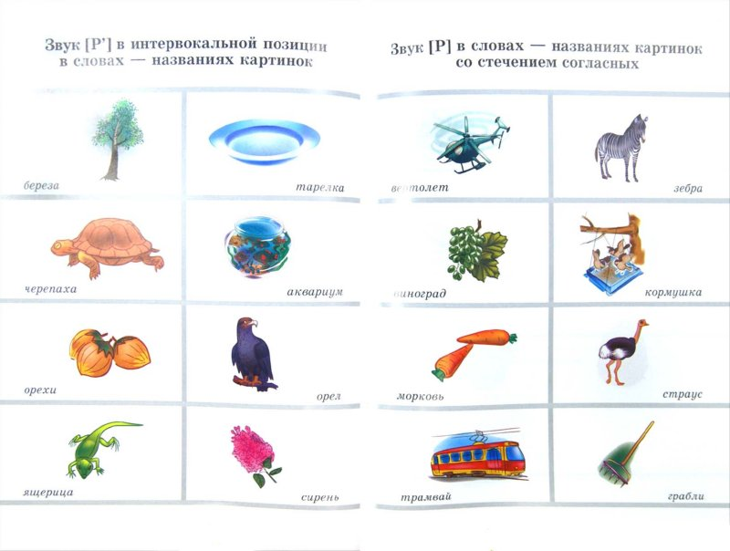 Иллюстрация 1 из 3 для Вводим звуки в речь. Картотека заданий для автоматизации звуков Р, Р' - Перегудова, Османова | Лабиринт - книги. Источник: Лабиринт
