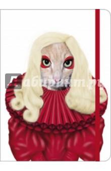 Книга для записи линованная на резинке Таккода. Леди Гага (60773) юлия высоцкая вкусные заметки книга для записи рецептов