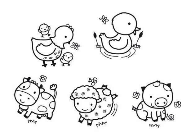 """Иллюстрация 1 из 2 для Бейби штамп """"Деревня. Домашние животные"""" (03802)   Лабиринт - игрушки. Источник: Лабиринт"""