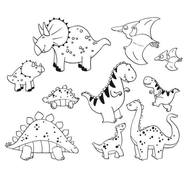 """Иллюстрация 1 из 2 для Стампоминос """"Динозавры. Большие и маленькие"""" (85123)   Лабиринт - игрушки. Источник: Лабиринт"""