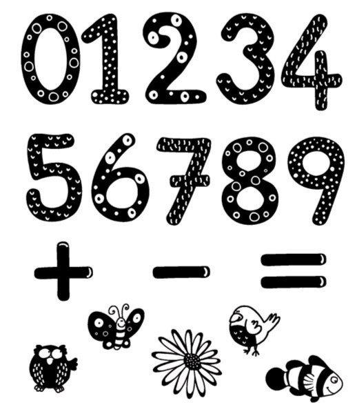 """Иллюстрация 1 из 3 для Стампоминос """"Учимся считать"""" (85110)   Лабиринт - игрушки. Источник: Лабиринт"""