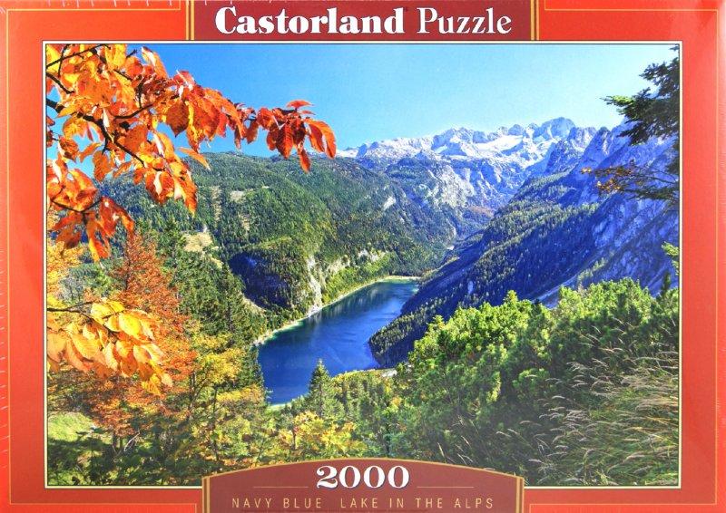 """Иллюстрация 1 из 11 для Puzzle-2000 """"Озеро в Альпах"""" (C-200399)   Лабиринт - игрушки. Источник: Лабиринт"""
