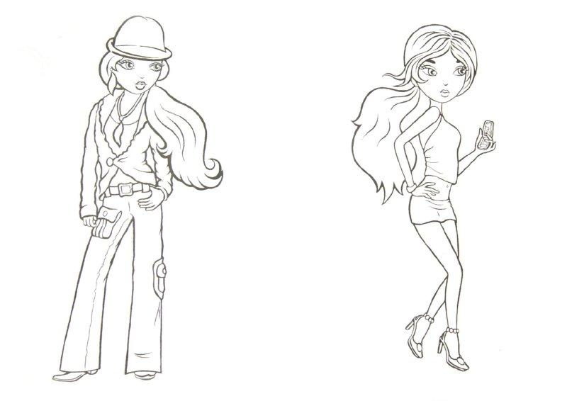 Иллюстрация 1 из 6 для Веселые девчонки | Лабиринт - книги. Источник: Лабиринт