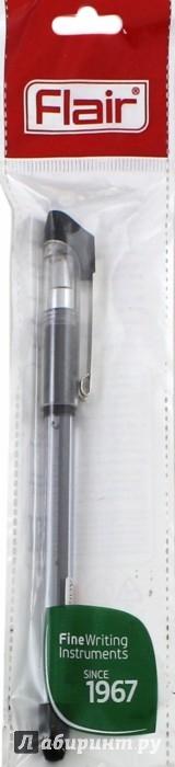 """Иллюстрация 1 из 6 для Ручка гелевая черная """"Flair"""" (F-899)   Лабиринт - канцтовы. Источник: Лабиринт"""