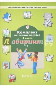 Комплект наглядных пособий. 4 класс. Русский язык. В 3-х частях. Часть 3