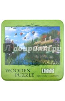 """Puzzle-1000 """"Дом с плакучей ивой, Dominic Davison"""" (10040)"""