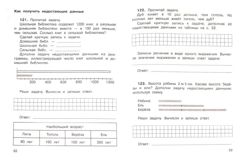 Иллюстрация 1 из 6 для Математика в вопросах и заданиях. 3 класс. Тетрадь для самостоятельной работы №2 - Захарова, Юдина | Лабиринт - книги. Источник: Лабиринт