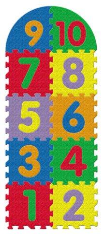 """Иллюстрация 1 из 5 для Напольный пазл-коврик """"Классики с цифрами"""" (7890)   Лабиринт - игрушки. Источник: Лабиринт"""