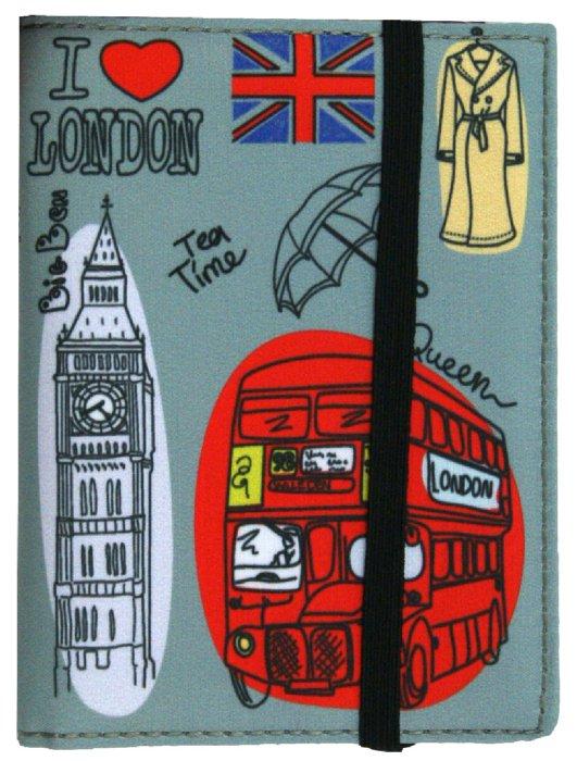 Иллюстрация 1 из 2 для Обложка для паспорта (Ps 1.142) | Лабиринт - канцтовы. Источник: Лабиринт