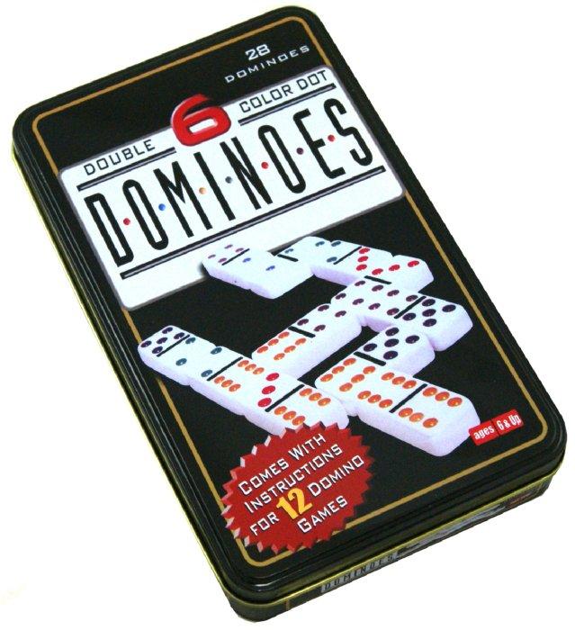 Иллюстрация 1 из 2 для Игра настольная Домино (24926) | Лабиринт - игрушки. Источник: Лабиринт
