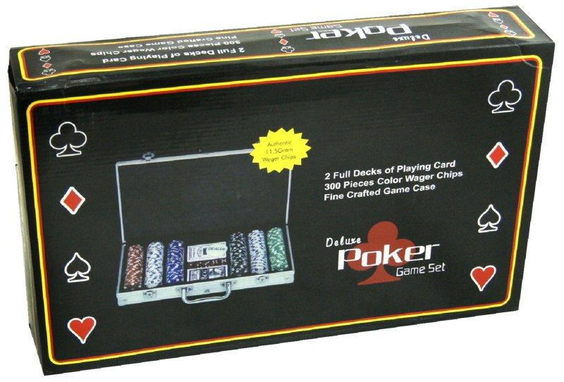 Иллюстрация 1 из 2 для Набор для игры в покер 300 фишек (24935)   Лабиринт - игрушки. Источник: Лабиринт