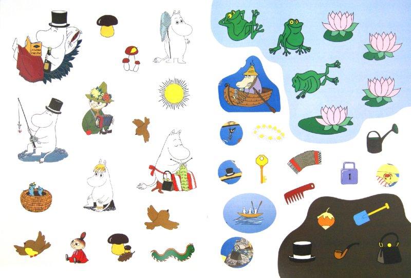 Иллюстрация 1 из 12 для Лето в Муми-далене. Игры с наклейками   Лабиринт - книги. Источник: Лабиринт