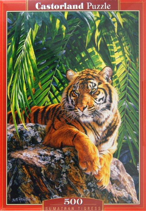 """Иллюстрация 1 из 4 для Puzzle-500 """"Тигрица"""" (B-51649)   Лабиринт - игрушки. Источник: Лабиринт"""