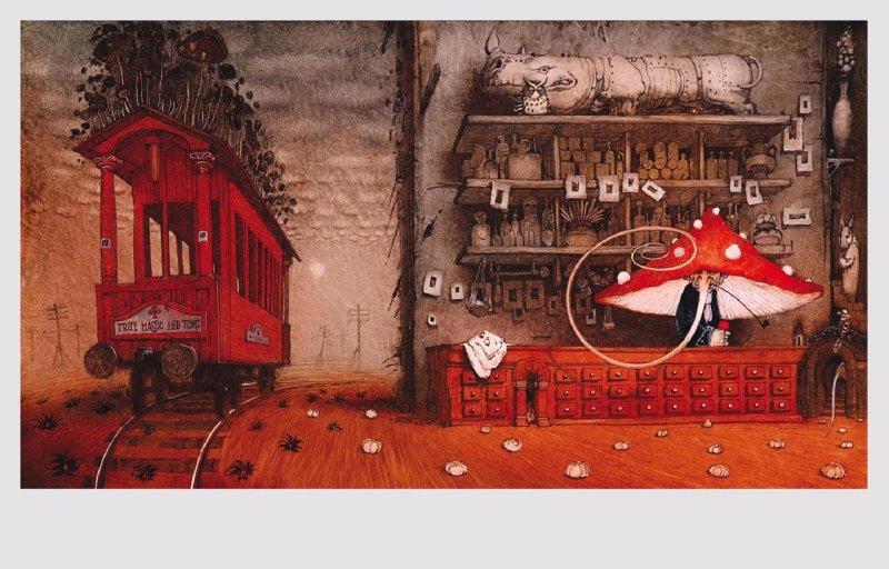 Иллюстрация 1 из 74 для Волшебная лавка - Герберт Уэллс | Лабиринт - книги. Источник: Лабиринт
