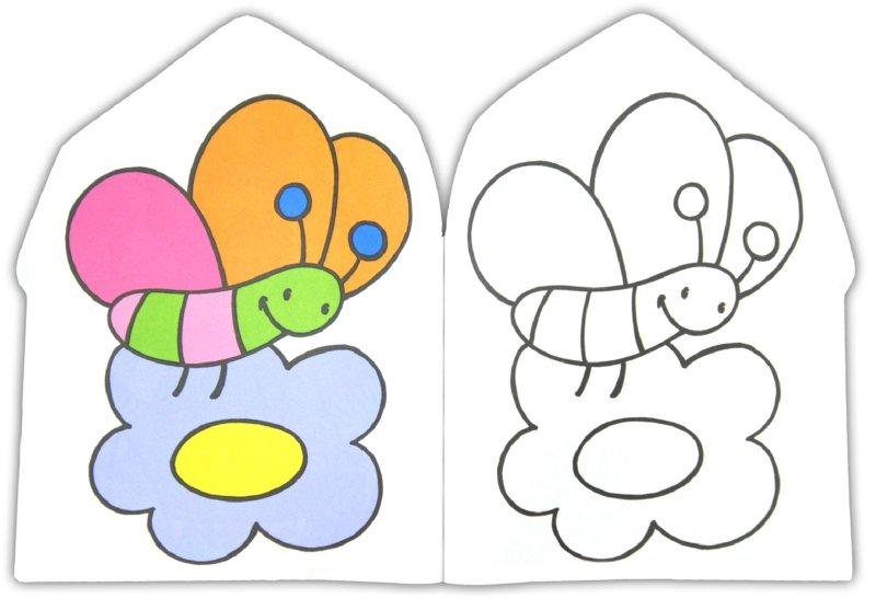 Иллюстрация 4 из 27 для Раскраска для малышей (лошадь ...