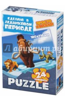 """Пазл-24 МИНИ """"Континентальный дрейф"""" (400306)"""