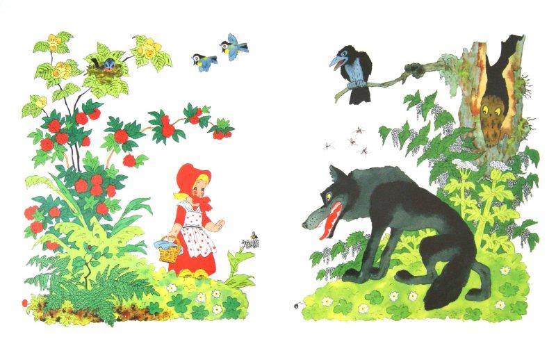 Иллюстрация 1 из 28 для Красная шапочка - Шарль Перро | Лабиринт - книги. Источник: Лабиринт