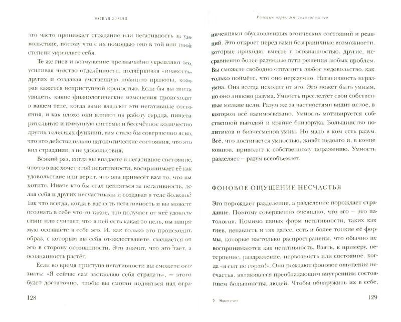 Иллюстрация 1 из 9 для Новая земля. Пробуждение к своей жизненной цели - Экхарт Толле   Лабиринт - книги. Источник: Лабиринт