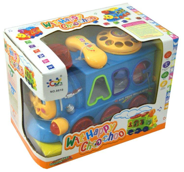 Иллюстрация 1 из 11 для Поезд со звуковыми и световыми эффектами (8810) | Лабиринт - игрушки. Источник: Лабиринт