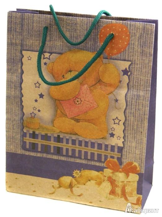 Иллюстрация 1 из 5 для Пакет бумажный  24х19х8 (Ф21-1905)   Лабиринт - сувениры. Источник: Лабиринт