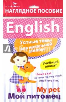 """Наглядное пособие. Учебный плакат English """"Мой питомец"""""""