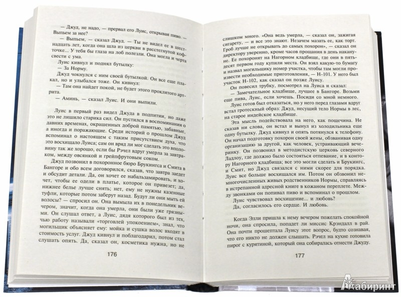 Иллюстрация 1 из 30 для Кладбище домашних животных - Стивен Кинг | Лабиринт - книги. Источник: Лабиринт