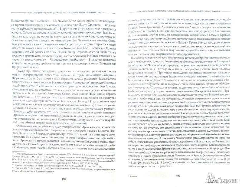 Иллюстрация 1 из 14 для Что находится в Чаше Причастия? Размышления о тайне евхаристического преложения веществ - Владимир Протоиерей   Лабиринт - книги. Источник: Лабиринт