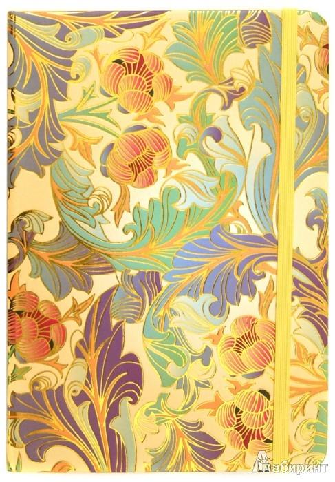 """Иллюстрация 1 из 10 для Блокнот Миди, 80 листов, """"Флора"""", 138х200 мм (БР8008)   Лабиринт - канцтовы. Источник: Лабиринт"""