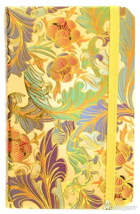 """Иллюстрация 1 из 2 для Блокнот Мини, 80 листов, """"Флора"""", 140х88 мм (БР8026)   Лабиринт - канцтовы. Источник: Лабиринт"""