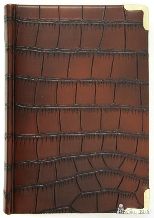 """Иллюстрация 1 из 2 для Ежедневник недатированный 152 листа """"Impact"""", А5, коричневый (ЕК515206)   Лабиринт - канцтовы. Источник: Лабиринт"""