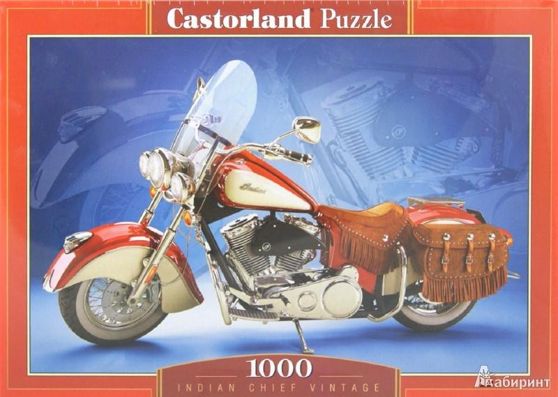 Иллюстрация 1 из 8 для Puzzle-1000. Мотоцикл (С-102570)   Лабиринт - игрушки. Источник: Лабиринт