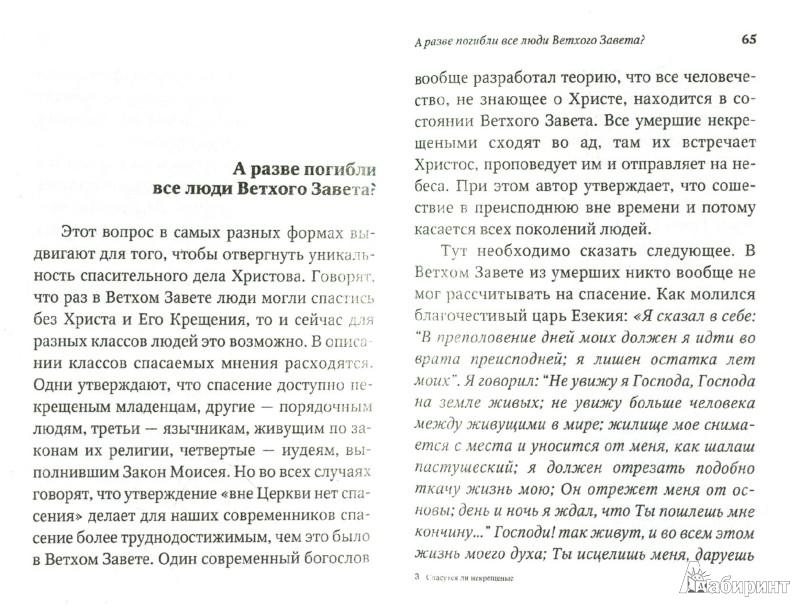 Иллюстрация 1 из 8 для Спасутся ли некрещёные - Даниил Священник   Лабиринт - книги. Источник: Лабиринт