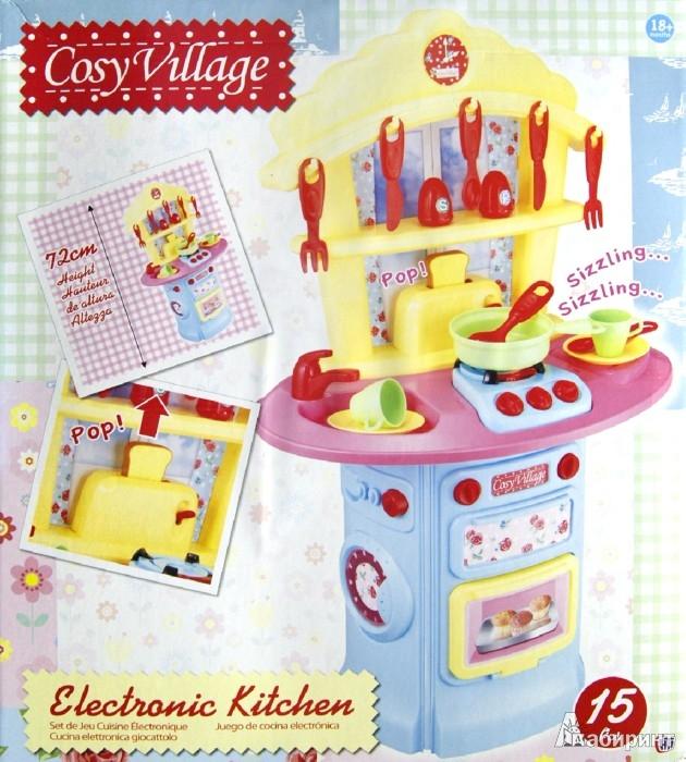 Иллюстрация 1 из 3 для Электронная кухня + 15 аксессуаров (1680380.00)   Лабиринт - игрушки. Источник: Лабиринт