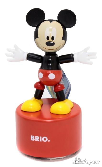 Иллюстрация 1 из 2 для Игрушка на платформе, подвижные Микки и Минни Маус (32235) | Лабиринт - игрушки. Источник: Лабиринт