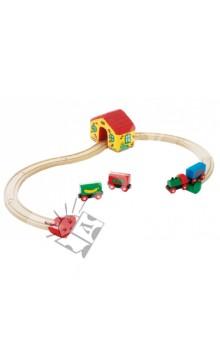 Моя первая железная дорога, 15 элементов (33700) от Лабиринт