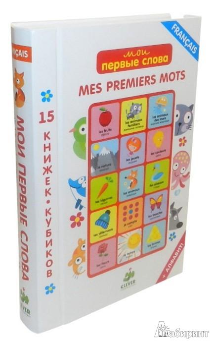 Иллюстрация 1 из 12 для Мои первые слова. 15 книжек-кубиков. Французский язык | Лабиринт - книги. Источник: Лабиринт