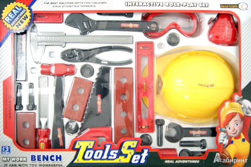 Иллюстрация 1 из 7 для Набор инструментов, 25 предмета (N640-H24042) | Лабиринт - игрушки. Источник: Лабиринт
