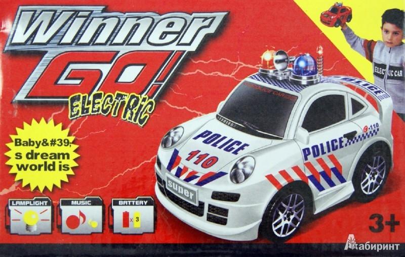 """Иллюстрация 1 из 4 для Машина с мигалками """"Победитель"""" (746882)   Лабиринт - игрушки. Источник: Лабиринт"""