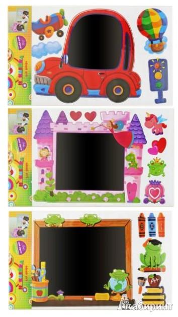 Иллюстрация 1 из 5 для Наклейка Декор-доска (WST-4060CHB) | Лабиринт - игрушки. Источник: Лабиринт