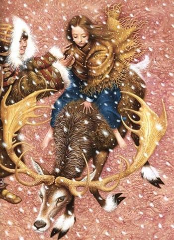 Иллюстрация 1 из 24 для Снежная Королева - Ханс Андерсен | Лабиринт - книги. Источник: Лабиринт