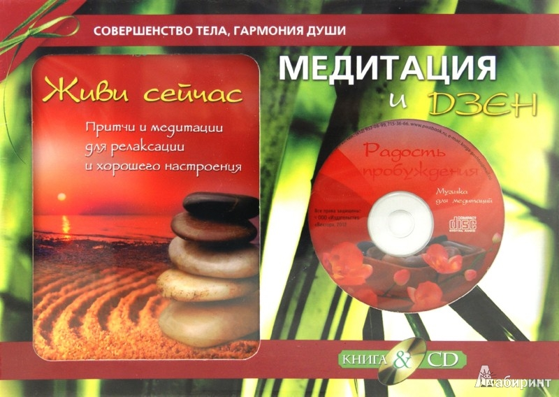 Иллюстрация 1 из 16 для Медитация и Дзен. Подарочный комплект (+CD)   Лабиринт - книги. Источник: Лабиринт