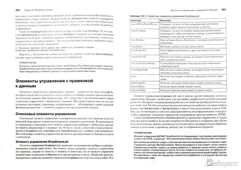 Иллюстрация 1 из 8 для Программирование с использованием Microsoft ASP.NET 4 - Дино Эспозито | Лабиринт - книги. Источник: Лабиринт