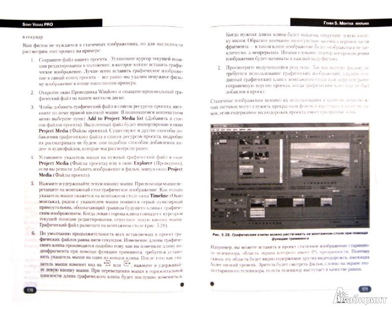 Иллюстрация 1 из 13 для SONY VEGAS PRO 11. Профессиональный видеомонтаж. Практический учебный курс (+DVD) - Холл, Прокди   Лабиринт - книги. Источник: Лабиринт